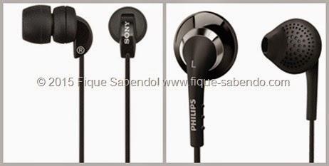 Fones intra-auriculares
