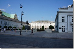 Presidential Palace, Old Town, Warsaw