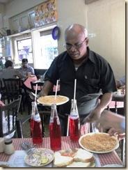 Mohan feeding our platoon