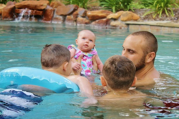 Bliss' First Swim and more! 061