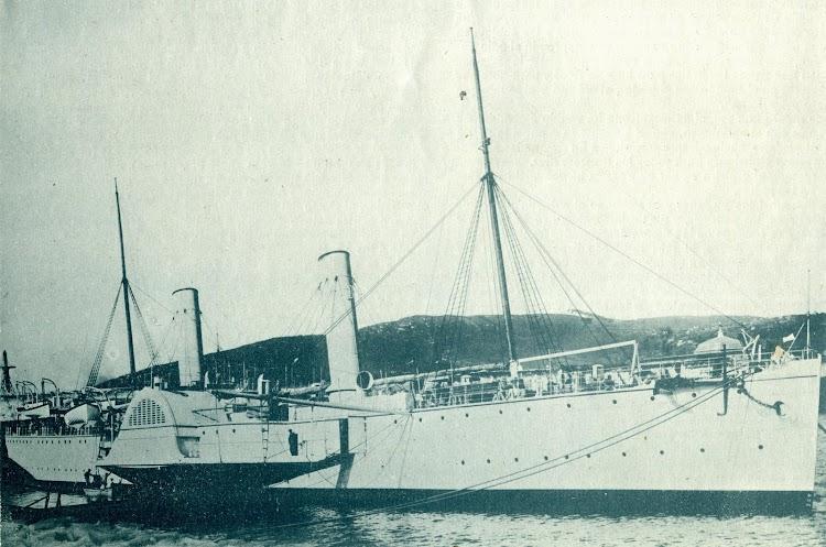 El GENERAL VALDES. Foto de la revista EL MUNDO NAVAL ILUSTRADO. Año 1898.JPG