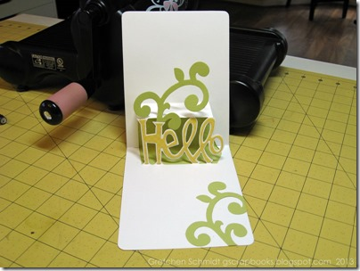 You're Tweet Pop `n Cut Cards Tutorial by @gscrapbooks