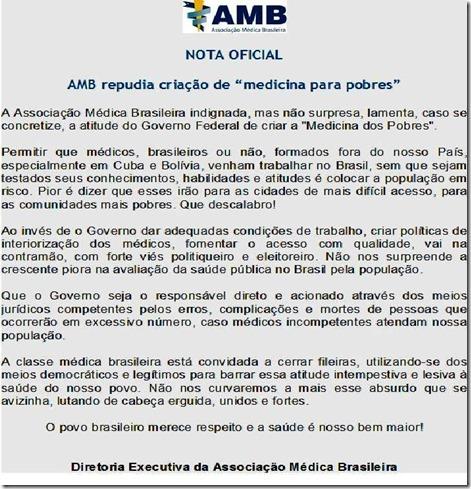 AMB - nota