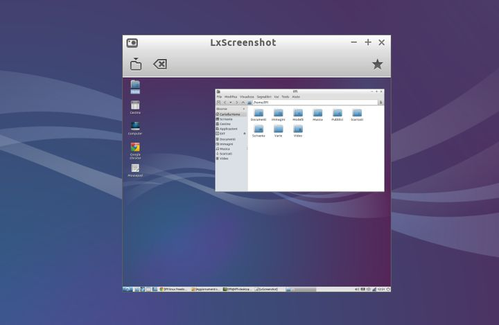 LxScreenshot - Screenshot