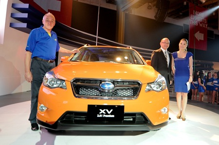 LAUNCH -SUBARU MIAS2012