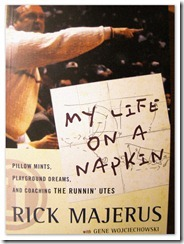 rick majerus - my life on a napkin