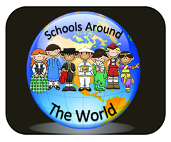 Schools Around the World - Global School Tour Linky Party with Classroom Pictures