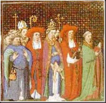 Miniatura del Decamerón de Bocaccio, sig. XV.