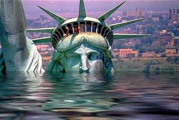 CC Photo Google Image Search Source is 2 bp blogspot com  Subject is statue of liberty under water