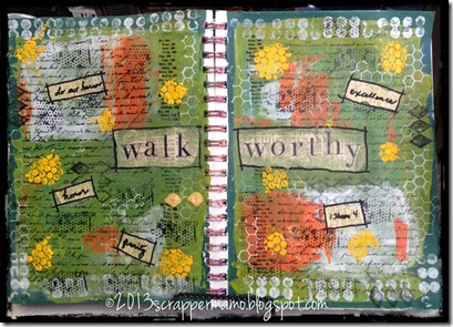Walk Worthy Art Journal