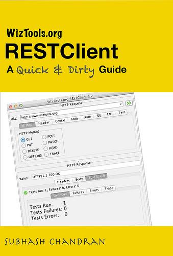 RESTClient Book
