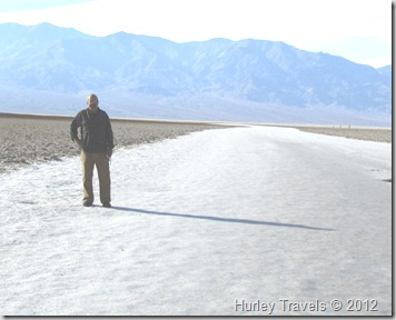 Badwater Basin in Death Valley Natl. Pk.