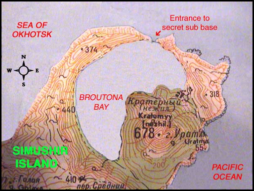 Broutana Bay Map (Wayne Brown)