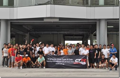 SG CTR Track Day Group Photo