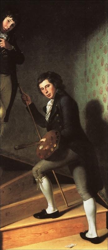 Charles Wilson Peale, Portrait de Raphaëlle et Titian Peale