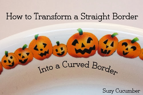 How to transform a straight border into a curved border