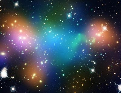 aglomerado de galáxias Abell 520