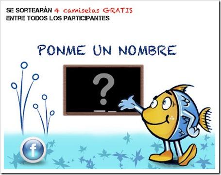 Concurso: Ayúdanos a poner nombre al pez de eCamisetas y llevate unas camisetas.