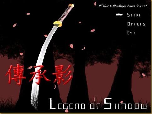 Legend of Shadow タイトル