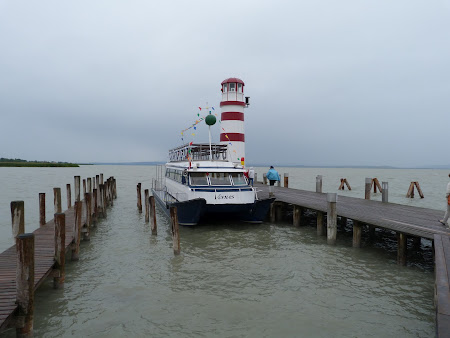 vapor pe lacul Neusiedler