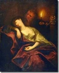 godfried-schalken-mujer-dormida-con-una-vela-encendida-museos-y-pinturas-juan-carlos-boveri