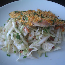 Spicy Cabbage and Coriander Salad