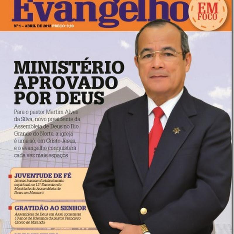 """Jornalista Paulo Martins lança revista """"Evangelho em Foco""""   A rev"""