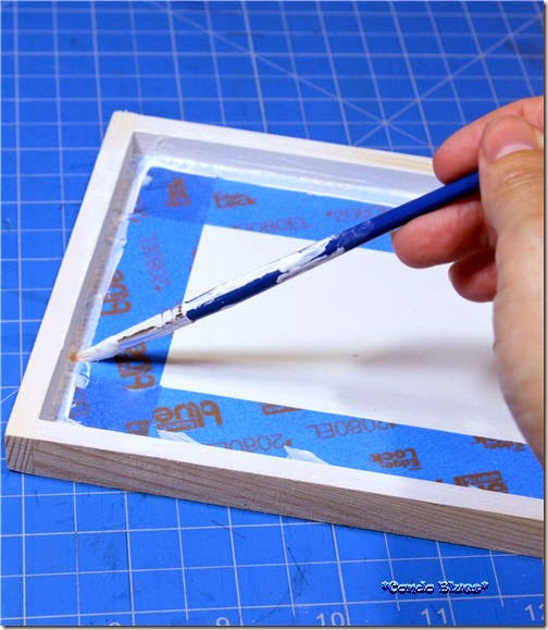 how to paint crisp edge lines 1