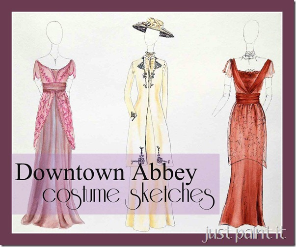 Downton-Abbey-Costume-Sketch