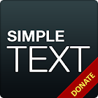 Simple Text Donate/Pro Key icon