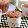 Eggless Apple Banana Muffins Recipe