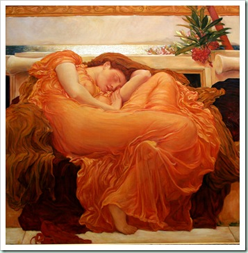 leighton - flaming_june