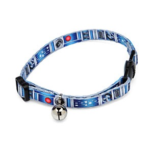 R2D2 Cat Collar from ThinkGeek