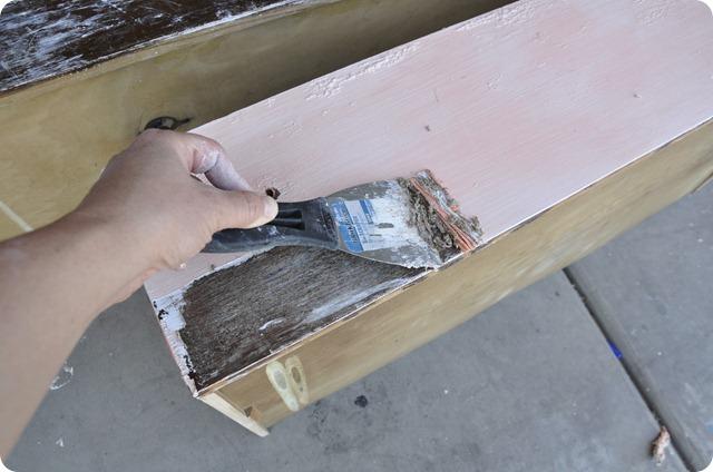 stripping a dresser