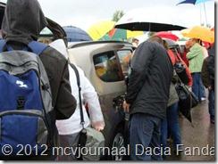 Dacia Fandag 2012 Onthulling Lodgy 17