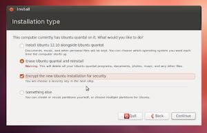 installer di Ubuntu Linux