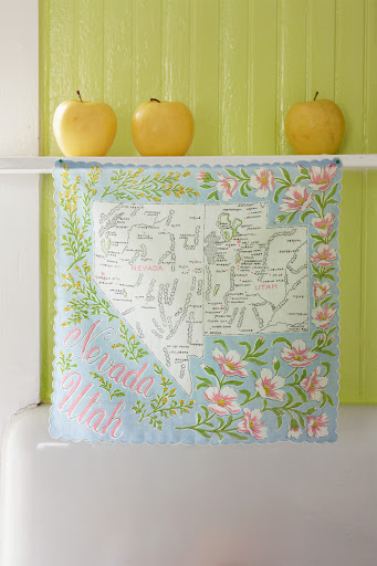 Nevada/Utah handkerchief. (Martha Stewart Living, July 2010)