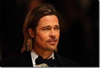 corte de cabello de hombre en pelo largo de bradd pitt