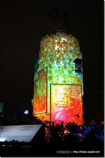 2010台北燈節(台北燈會)-花朵燈籠