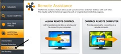 remote assistance in avast