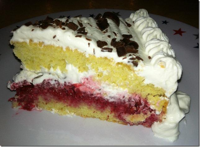TWD Raspberry Genoise Cake 6-18-12