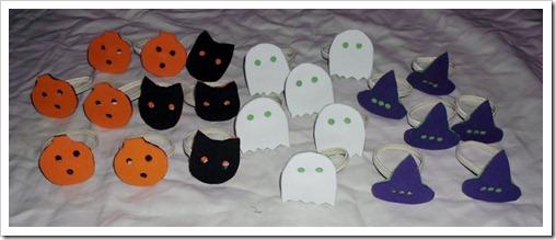 Foam Halloween Bracelets