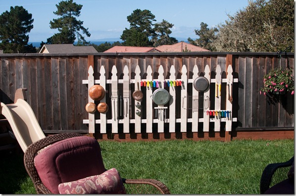 DIY Music Fence