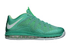 nike lebron 10 low gr green white 3 01 easter LEBRON X LOW, KOBE 8 and KD V   Nike Easter Collection