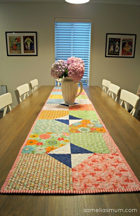 Layers of Charm - Table Runner 2