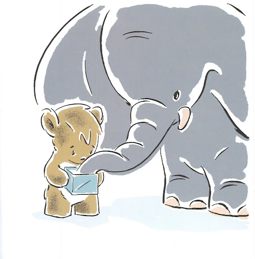 The Elephant doesn't think he's too big, he just thinks the box is too tiny.