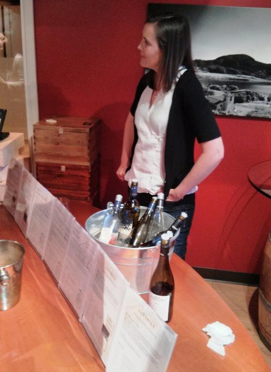 Winemaker Severine Pinte with Whites & Rosés