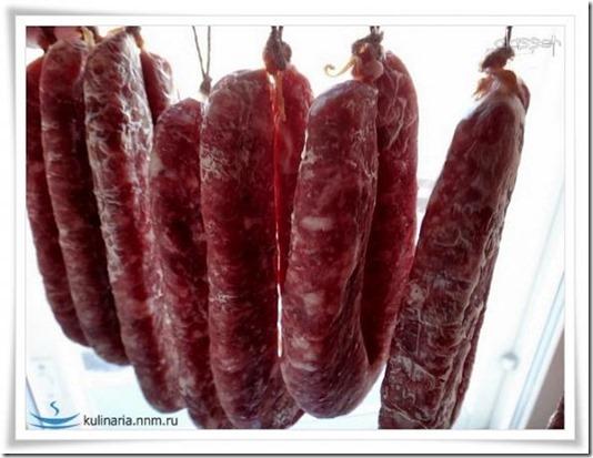 Сухая колбаса высшего сорта в домашних условиях видео
