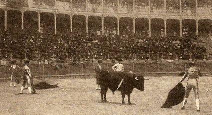 Guerrita estocada toro Ibarra 1898 001