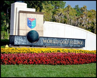 01 - World Golf Village Entrance